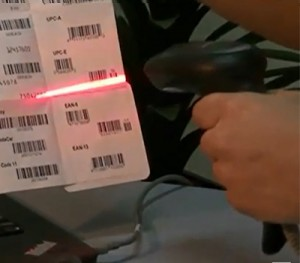 Scanner de codigo de barras