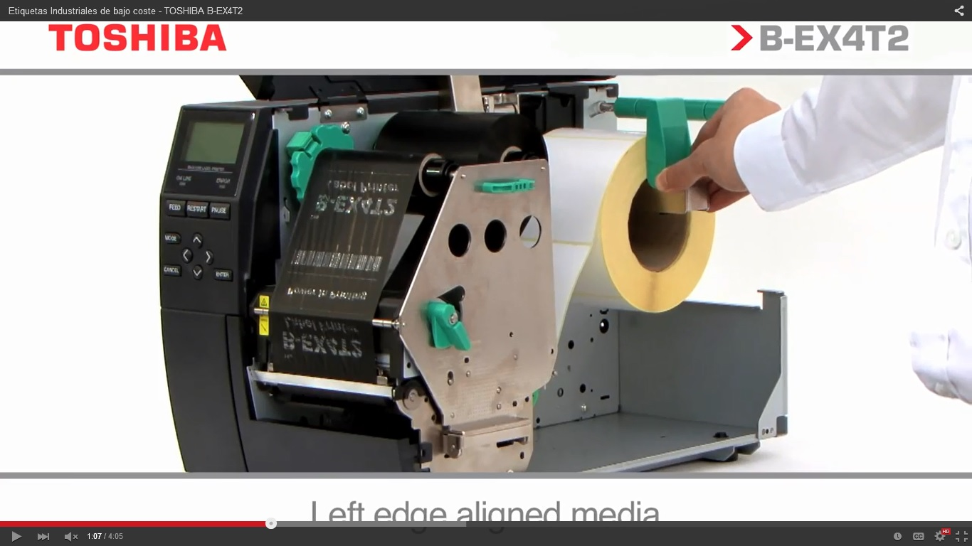 Impresoras de etiquetas portátiles