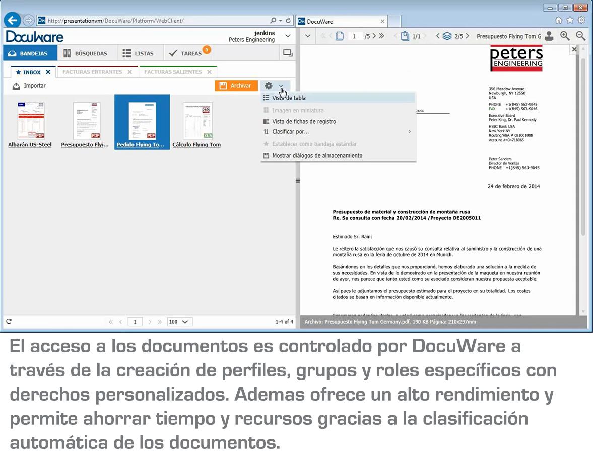 Docuware: software de gestión de contenido empresarial (parte I)