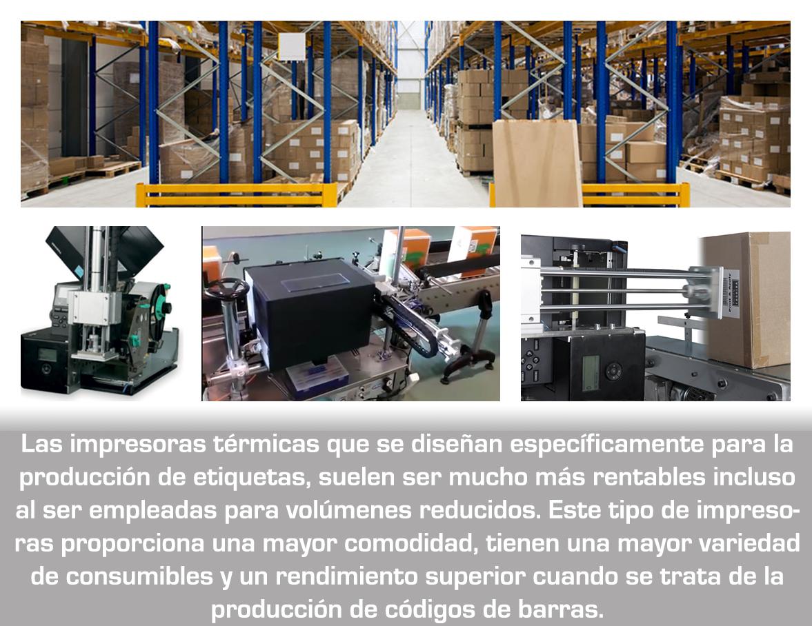 Ventajas y desventajas de las distintas clases de impresoras de etiquetas