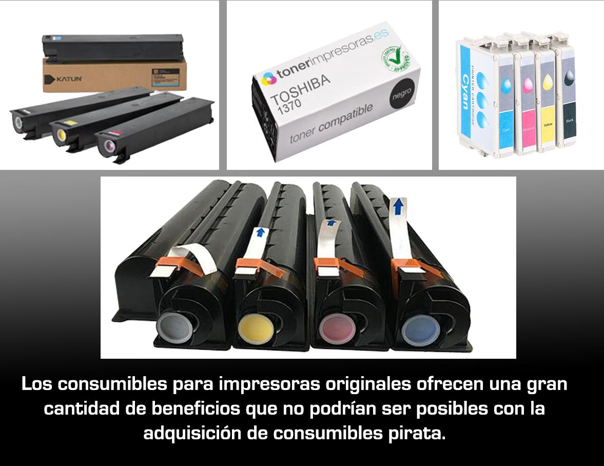 """Los Consumibles para impresoras originales VS los cartuchos """"pirata"""""""