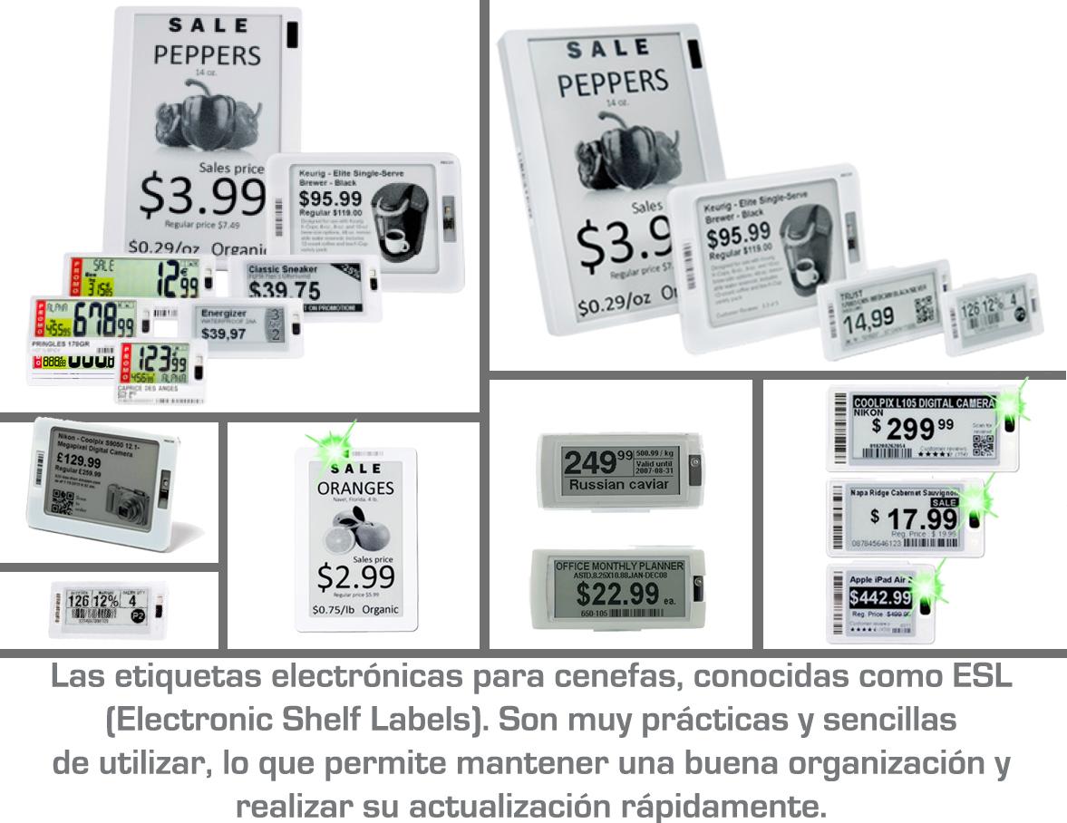 Beneficios  de las etiquetas electrónicas  ESL