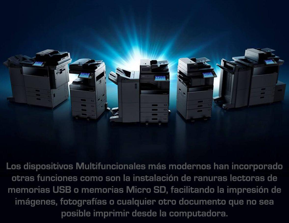 Tres razones para adquirir impresoras multifuncionales para su empresa