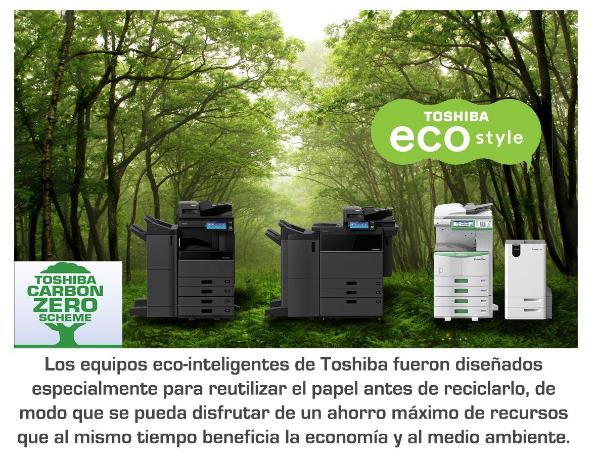 Conoce las multifuncionales eco-inteligentes de Toshiba
