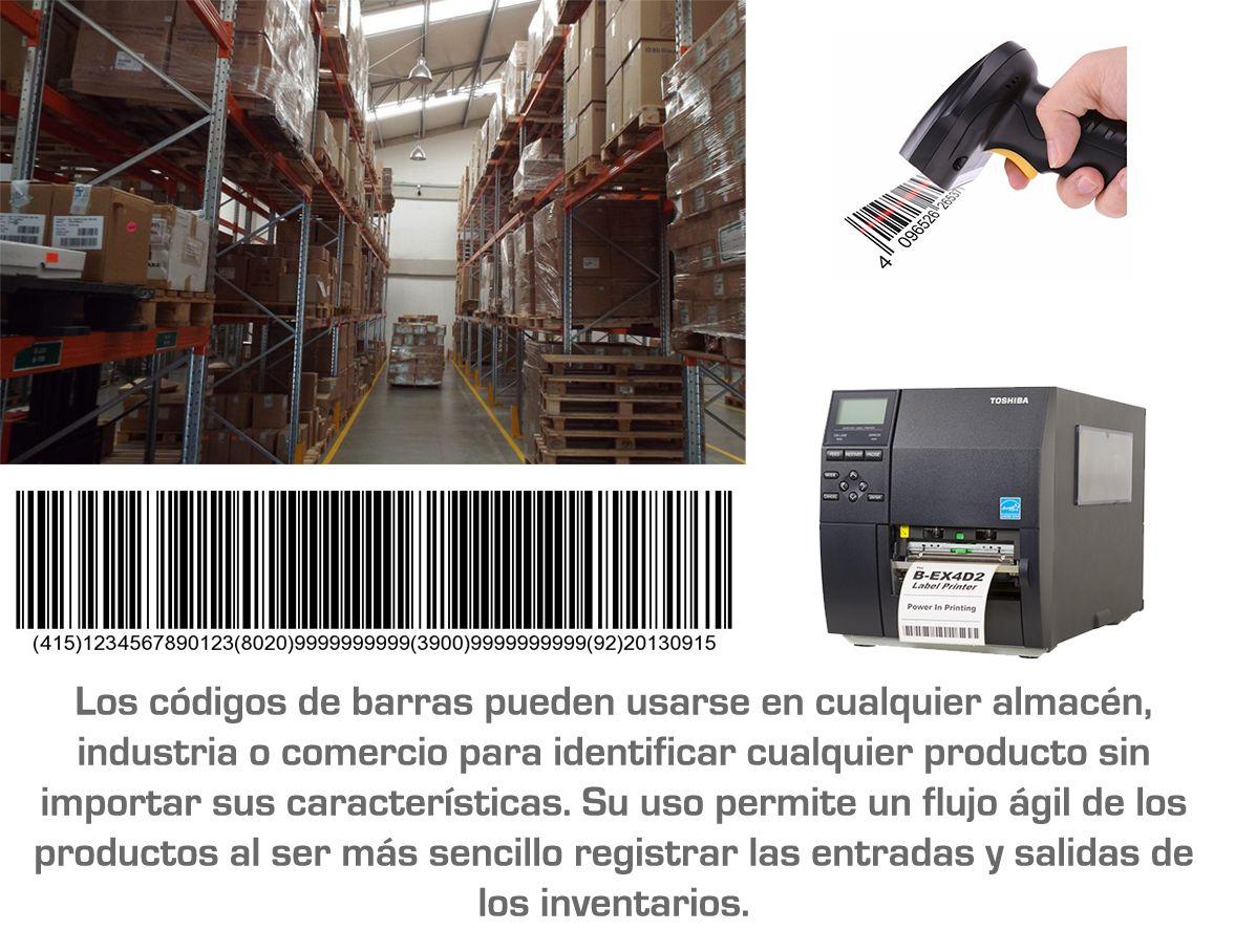 Uso del código de barras en las industrias y el comercio