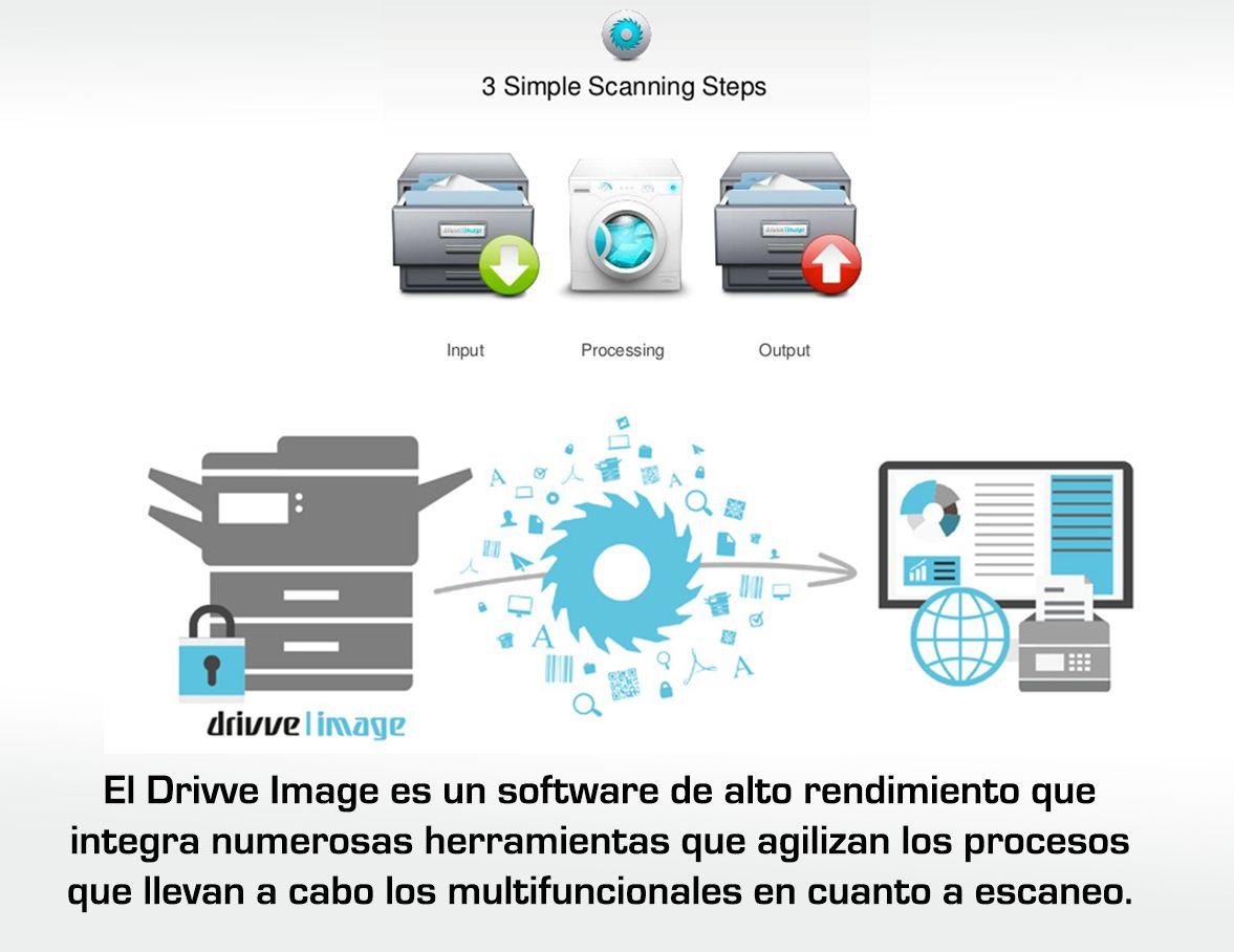 Por qué utilizar Drivve Image para optimizar las tareas de escaneo con multifuncionales