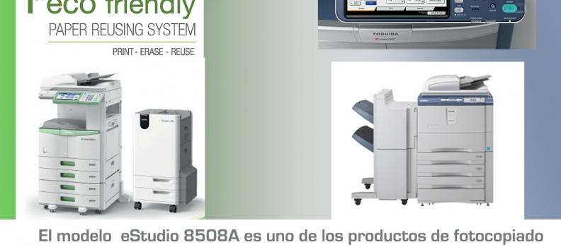 Copiadoras Toshiba: calidad