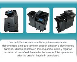 Los multifuncionales, más que una impresora