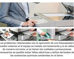 Cómo reducir los riesgos del uso continuo de fotocopiadoras