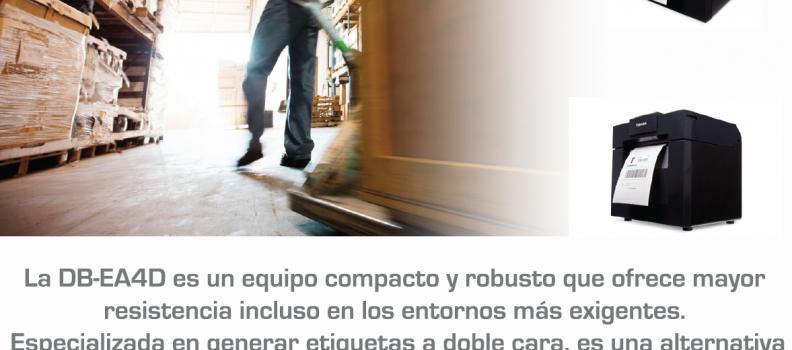IMPRESORA DE ETIQUETAS A DOBLE CARA: TOSHIBA DB-EA4D