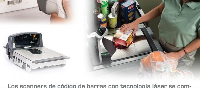 ¿Cómo funcionan los scanners de código de barras con tecnología láser?