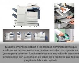 Venta de copiadoras en Ciudad de México, el mejor complemento para su negocio